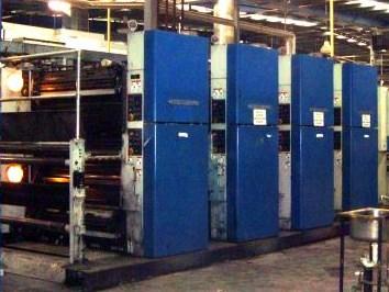 (4) 2000 Heidelberg Sunday M3000 Print Units