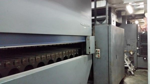 Heidelberg®  M600 B24 (8) Unit (2) Web Duplexed Press