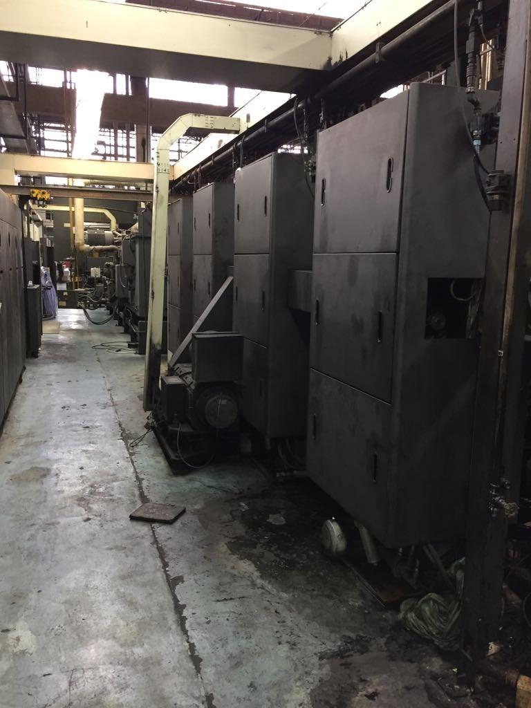 Duplexed M600, 2 Presses Consisting of 8 Total Units