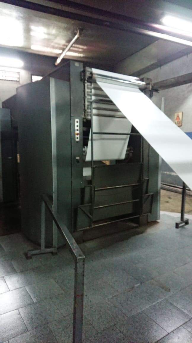 """Heidelberg M600 A-24 Web Press 4 units Cut off 22 3/4"""" JF44 Folder"""