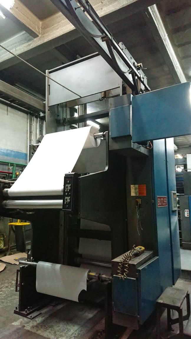 """Heidelberg Harris M600 B-24 Web Press 4 units cut off 22 3/4"""" JF50 Folder"""
