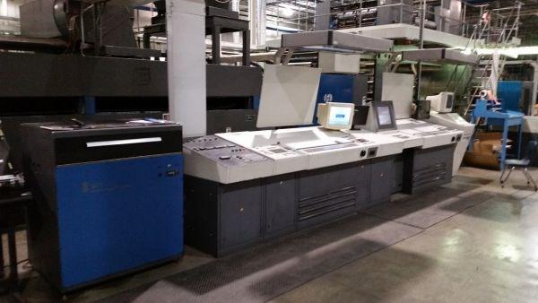 1994 Heidelberg Harris M600B24 (5) Unit (1) Web Press