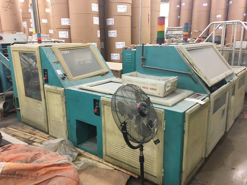 McCain S2100 Saddle Stitcher