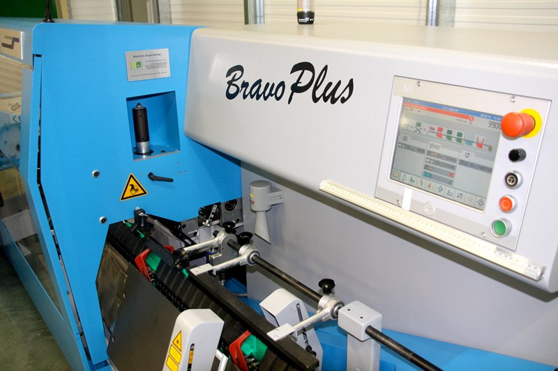 Muller Martini Bravo Plus Saddle Stitcher