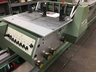 Refurbished 2007 Muller Martini Bravo Plus T 6-Pocket Saddle Stitcher