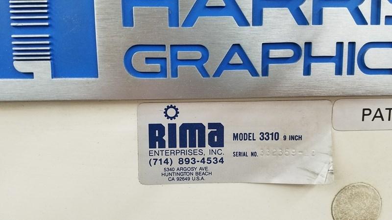 "RIMA 3310 9"" Stacker"