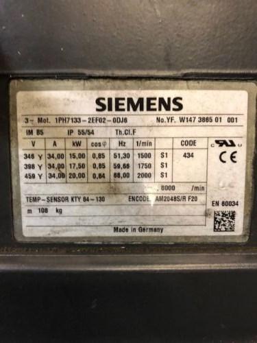 Siemens Motor IPH7133-2EF03-ODJ6