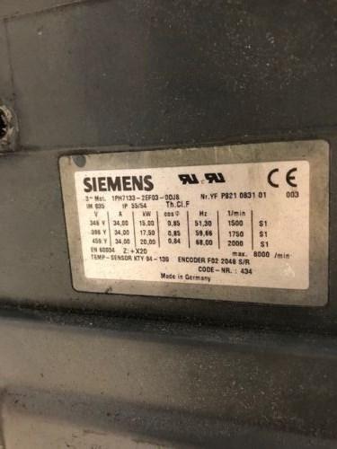 Siemens Motor IPH7133-2EF03-ODJ8