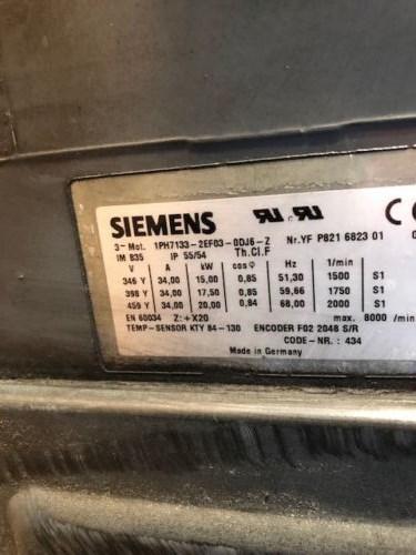 Siemens Motor IPH7133-2EF03-ODJ6-Z