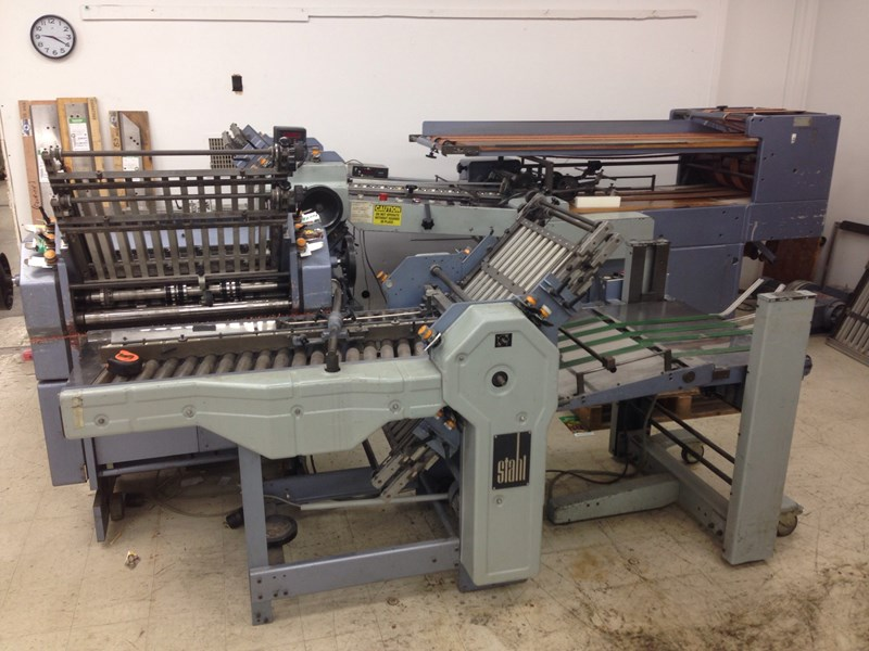Stahl T-56 Folder 4/4/4 Continuous Feed