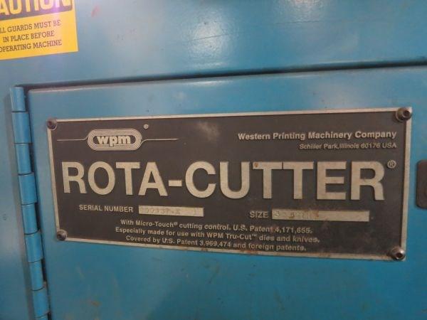 WPM Half Web Rotary Cutter