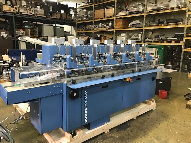2007 BUHRS BB700 - ENVELOPE INSERTING SYSTEM.
