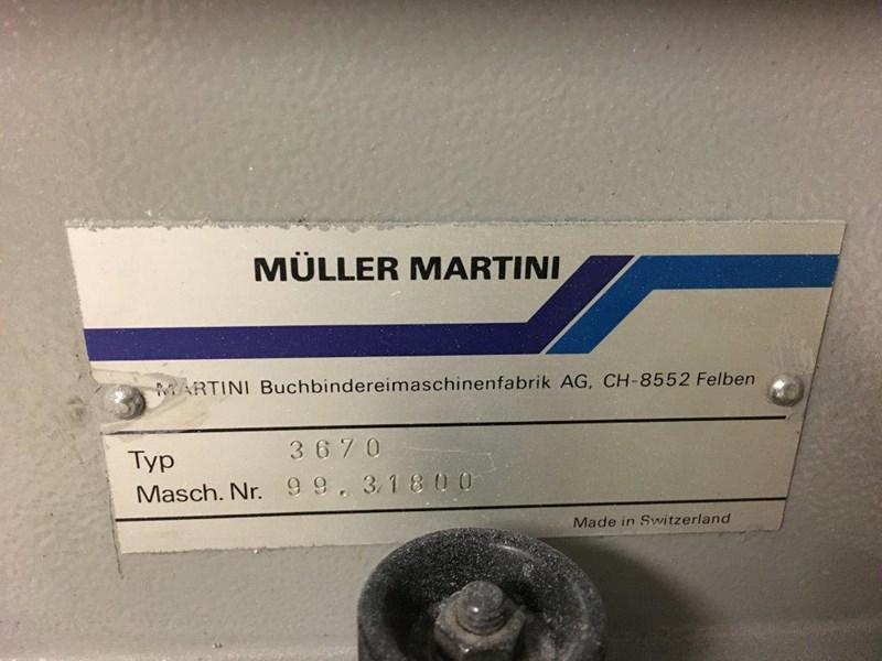 1999 Muller Martini Starbinder