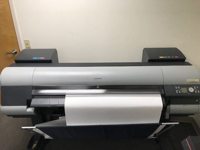 Canon Imageprograf iPF8000S wide format printer