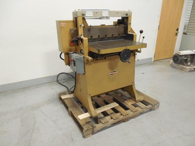 "Challenge 265 26.5"" hydraulic paper cutter"