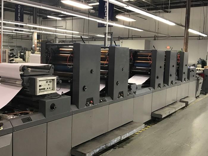 Didde 5/c 860 web offset press