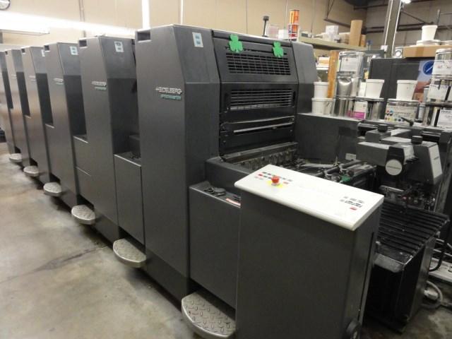 "Heidelberg Speedmaster SM52-6P3 6/C 14"" x 20"" offset perfecting press"