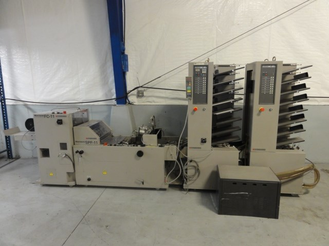 Horizon MC-80A/M 16 bin collator/bookletmaker