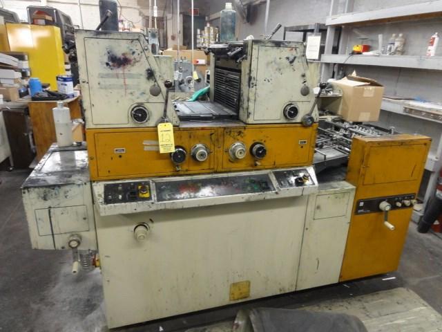 Itek 3985 2/C press with Kompac dampening