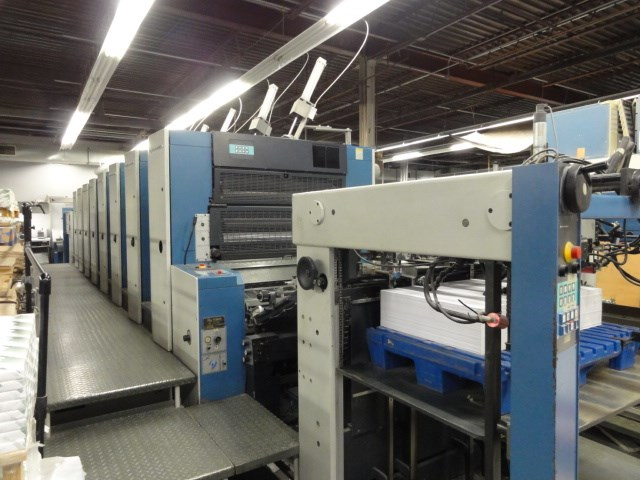 "1999 KBA RA105-8PWHA 8/c 40"" offset press"