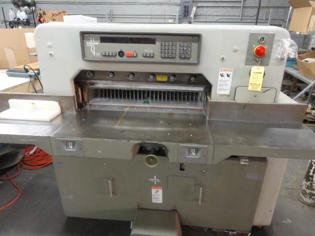 """Polar 76EM 30"""" paper cutter"""