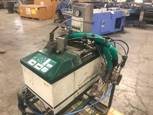 Robatech Concept 4/2 1K42 2-head glue system, hot melt tank