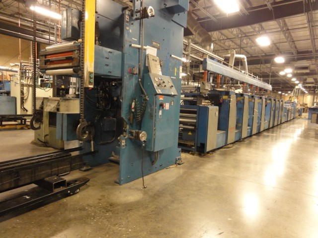 Rotatek  RK 320 20.5 in Wide Web Offset Press