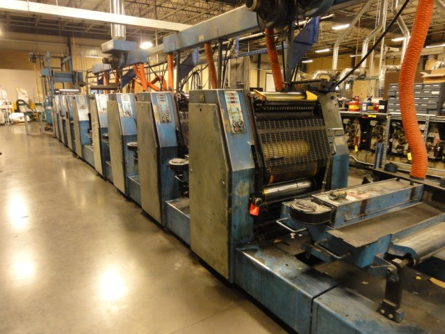 Rotatek  RK 320 20.5 in. Wide Web Offset Press