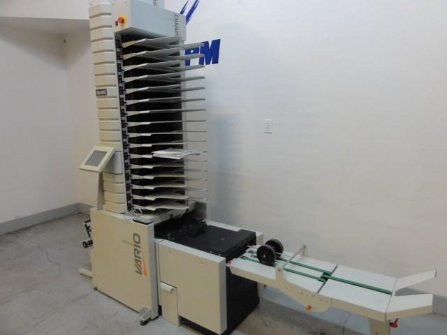Watkiss Slim Vac Vario 16 station vertical vacuum collator / bookletmaker
