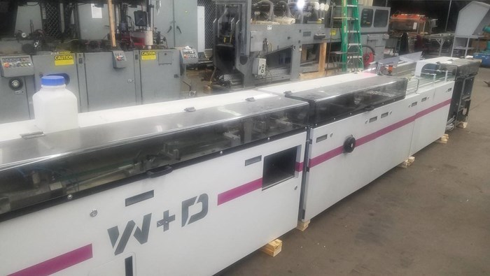 W+D Buhrs  BB700 high speed envelope inserter
