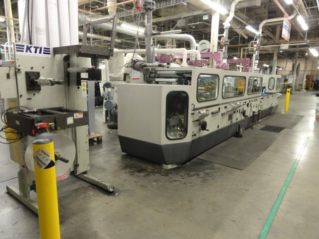 Winkler + Dunnebier 627GS  900 Epm Blank Fed Envelope Converting Machine