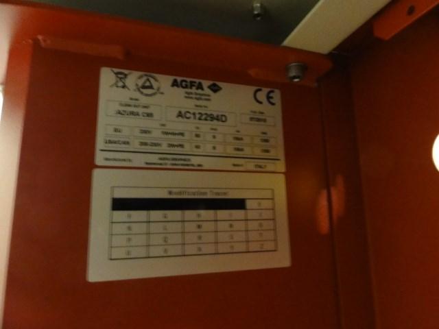 Agfa Azura C95 plate processor