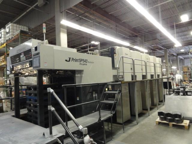 Akiyama JPrint 5P 540 offset press