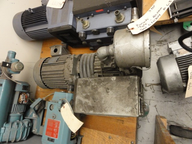 Busch 60-63 CFM vacuum pump - vacuum pump, Md. RC-0100