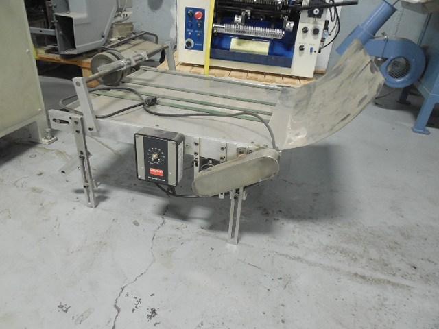 Dayton Conveyor small conveyor w/ Dayton controller 110 volts