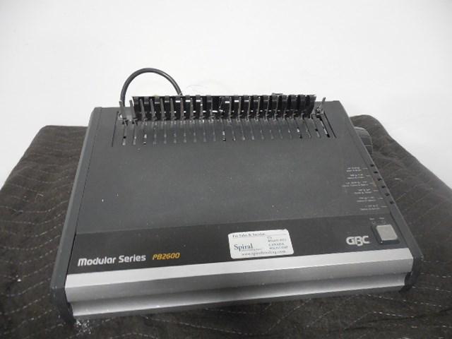 GBC PB 2600 electric closer