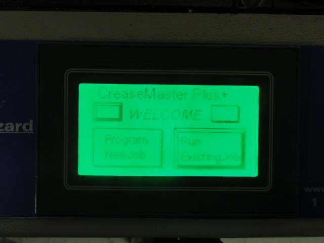 Graphic Whizard CMplus-TS autofed, servo driven perf/score