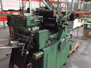 Halm JPTWOD-6D 2/c offset envelope printing press