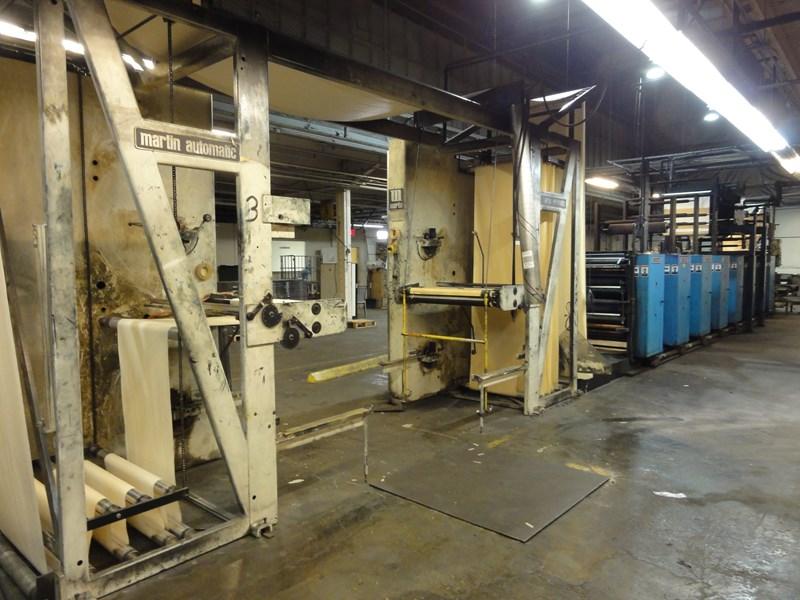 Harris V15D 8/u 22 3/4 coldset web offset press