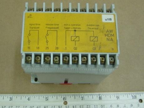 Heidelberg - electrical contact block, art