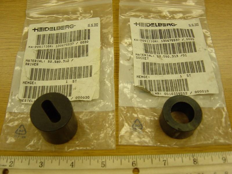 Heidelberg material socket #52.580.313/01