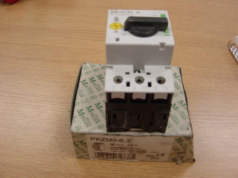 Heidelberg motor protective switch, Klockner-Moeller, 25 amp