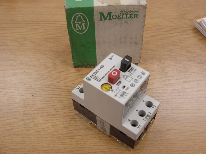 Heidelberg manual motor switch, Klockner-Moeller, 25 amp