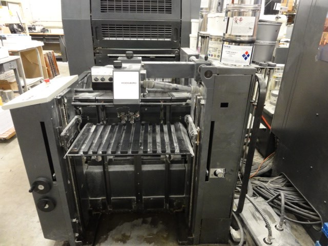"Heidelberg Speedmaster SM52-6P3 6/C 14"" x 20"" offset perfecting press"
