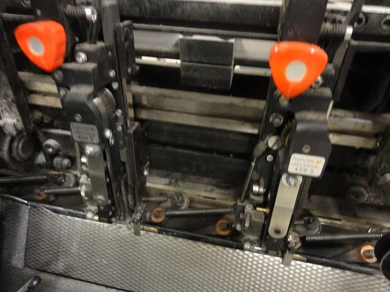Heidelberg ST90 saddlestitcher, 4 pockets plus cover feeder