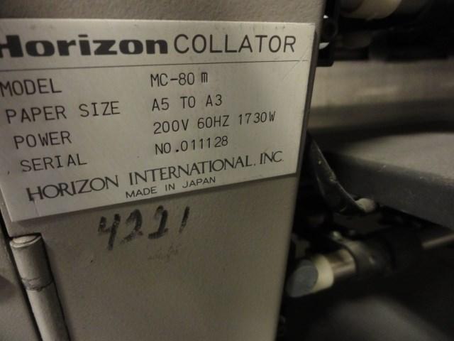 Horizon MC-80A/M 16 bin collator/bookletmaker