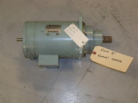 Komori DC motor-rebuilt; part #1750 RPM