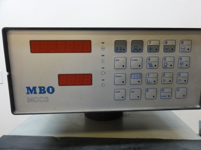 "MBO B20 20""x26"" pile fed folder with 8 page"