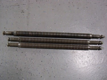 """MBO spiral rollers; (2) 26"""" wide & (1) 30"""" wide"""