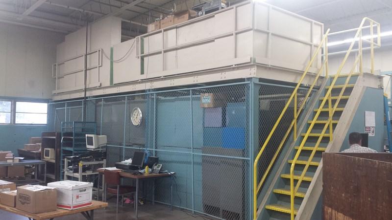 Open wire style Mezzanine